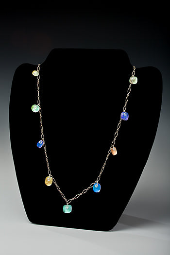 Necklace Droplet 18