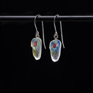 Earring -Dichroic Icicle ©