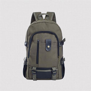 Canvas Travel Rucksack for Notebooks Laptop
