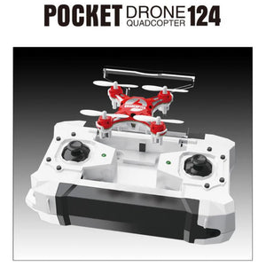 Mini Pocket Drone 6Axis Gyro  RC helicopter