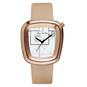Ladies Architectural Decorative Watch