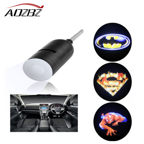 3D Laser Projector Hologram Batman, Superman or Spider Man Logo