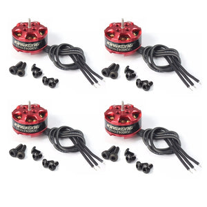 4pcs/set 7800kv Mini Brushless Motor for RC Mini Drone