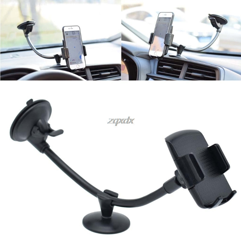 Universal Long Arm Windshield mobile Cellphone Mount