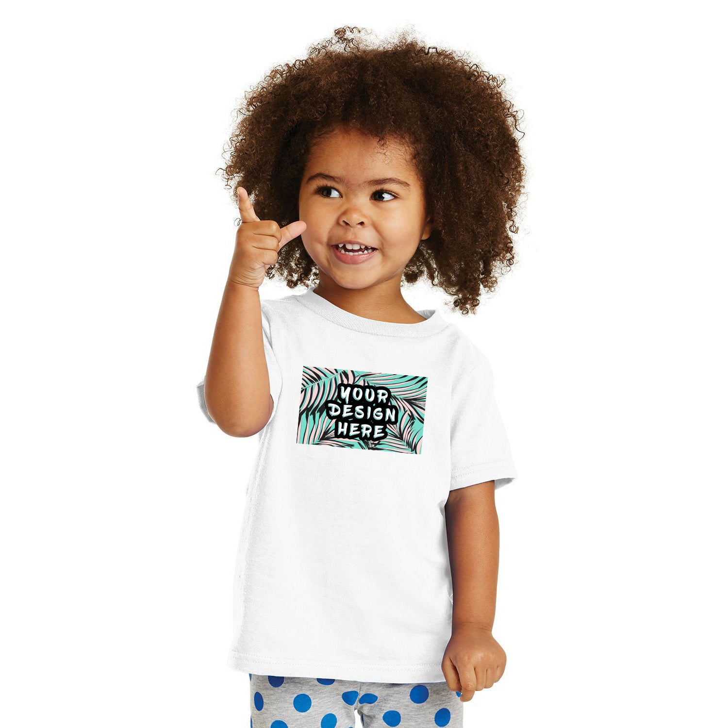 Rabbit Skins Toddler Cotton Crew