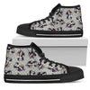 Women's High Top Shoes Disney Villains