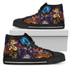 Women's Hight Top Shoes Disney Villains