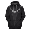 3D Hoodie Pullover Black Panther