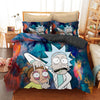 bedding set rick and morty