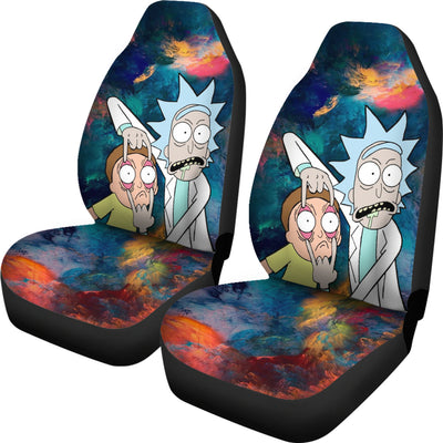 Car Seat Covers rick and morty