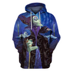 Hoodie Pull Over Disney Villains Maleficent