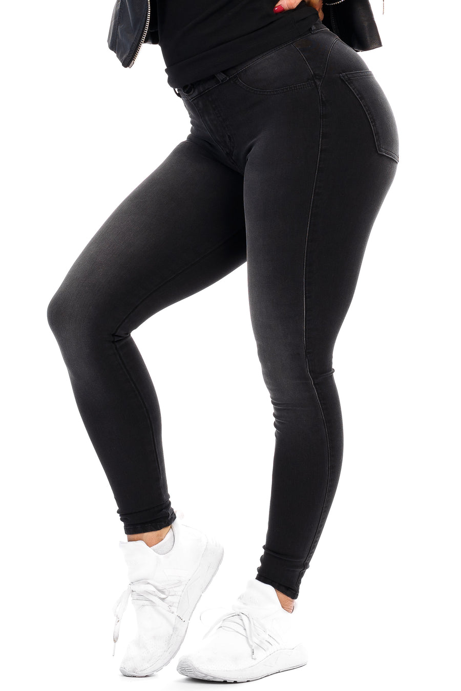 Womens 360 Fitjeans - Grey Shade