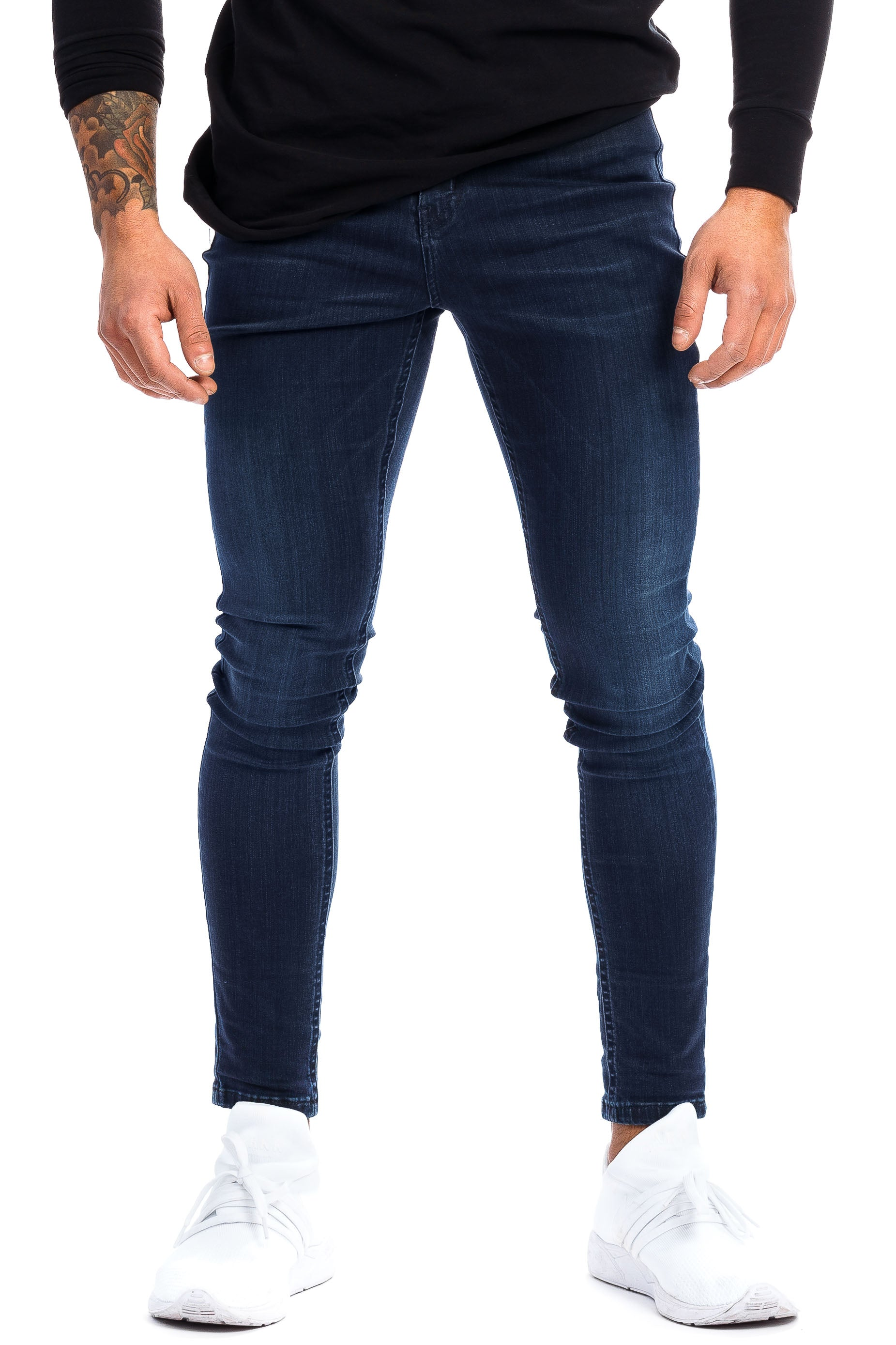 Mens Regular Fitjeans - Blue shade
