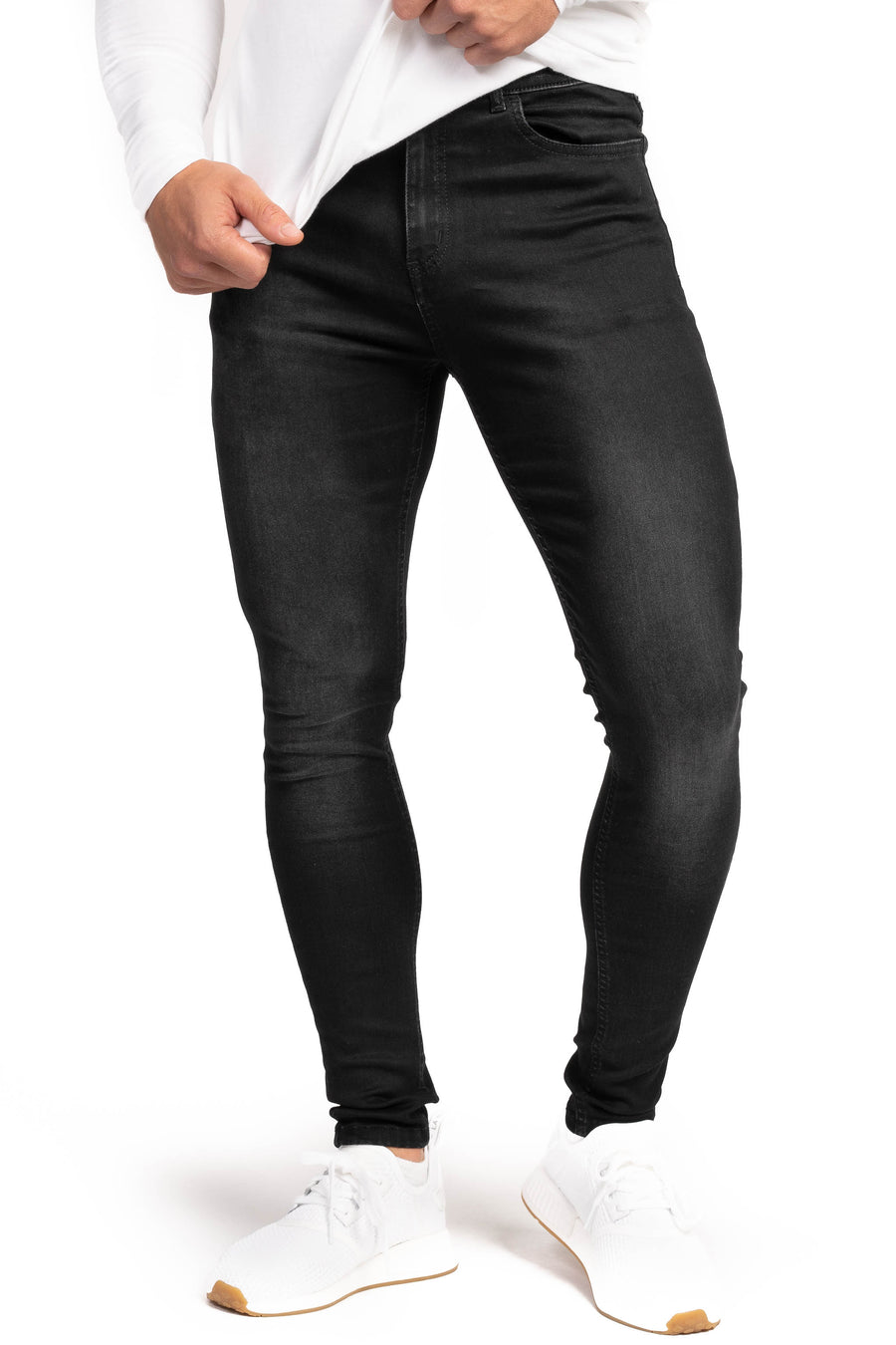 Mens 360 Fitjeans - Grey Shade
