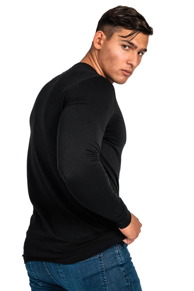 Mens Long Sleeve T-Shirt - Black