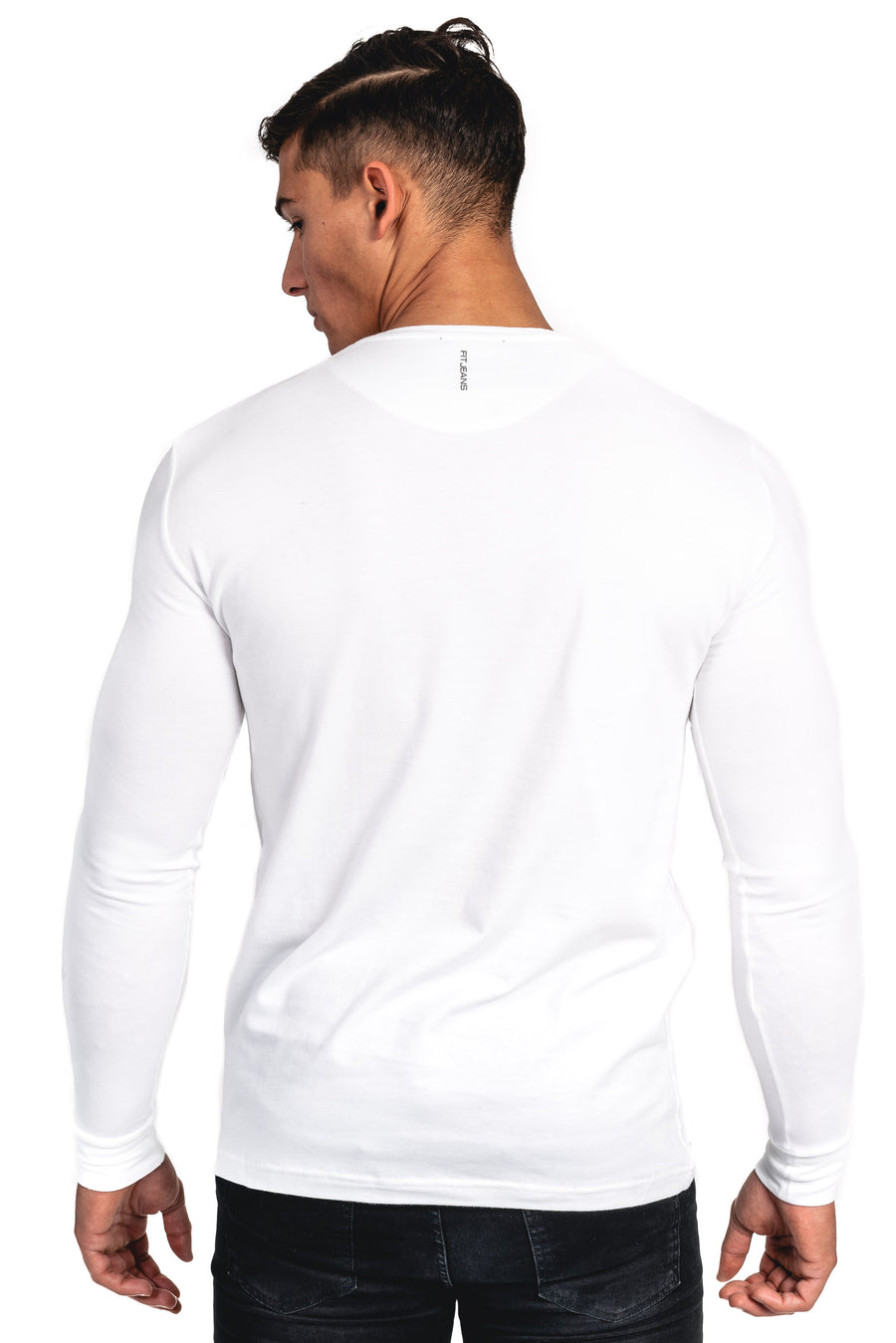 Mens Long Sleeve T-Shirt - White