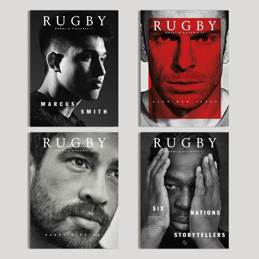 RUGBY OFFER - ISSUE 2-5 FOR £30!