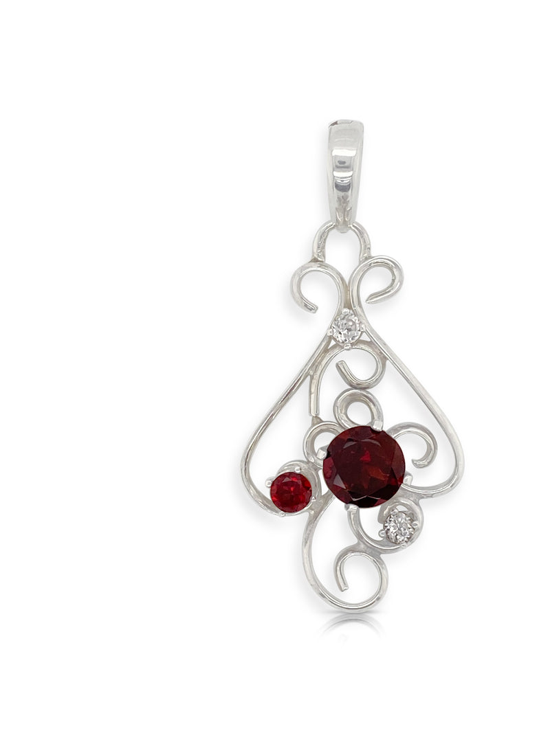 Garnet and White Spinel Enhancer