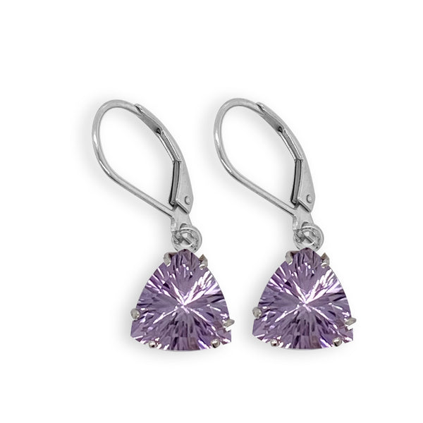 Lavendar Amethyst Trillian Dangle Earrings
