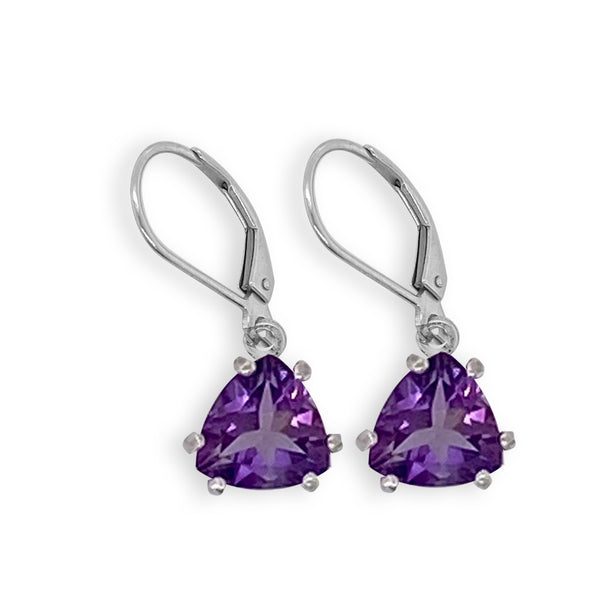 Amethyst Trillian Dangle Earrings