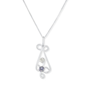 Chakra Necklace – Sixth and Seventh Chakras