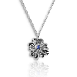 Forget-Me-Not With Blue Sapphire