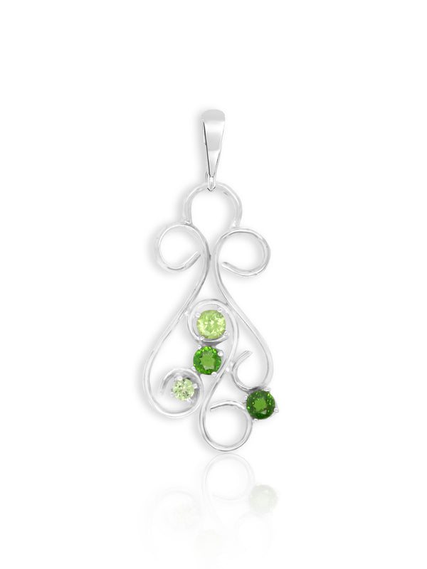 Peridot and Chrome Diopside Enhancer