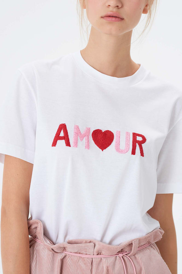 T-Shirt Cômète - Am<3ur - Côme Éditions