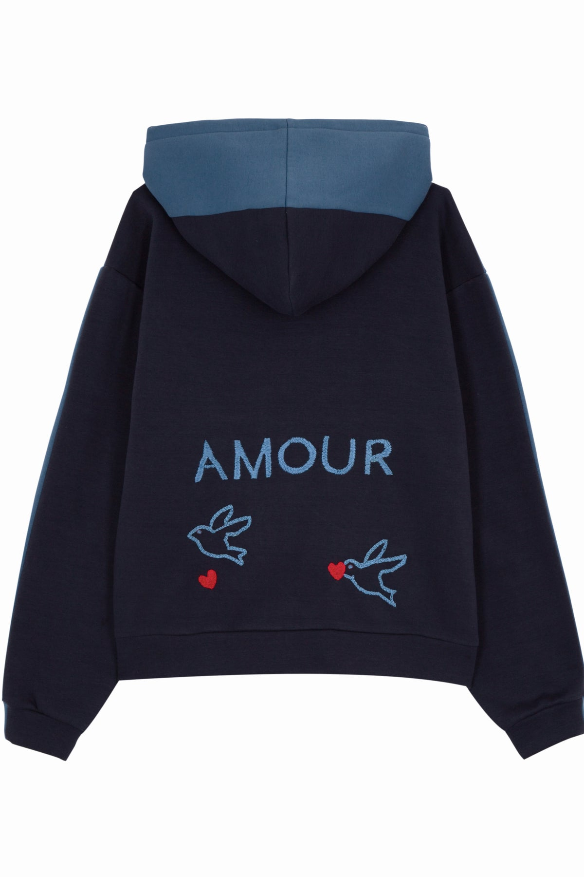 Sweat-Shirt Léon - Bleu (Amour) - Côme Éditions