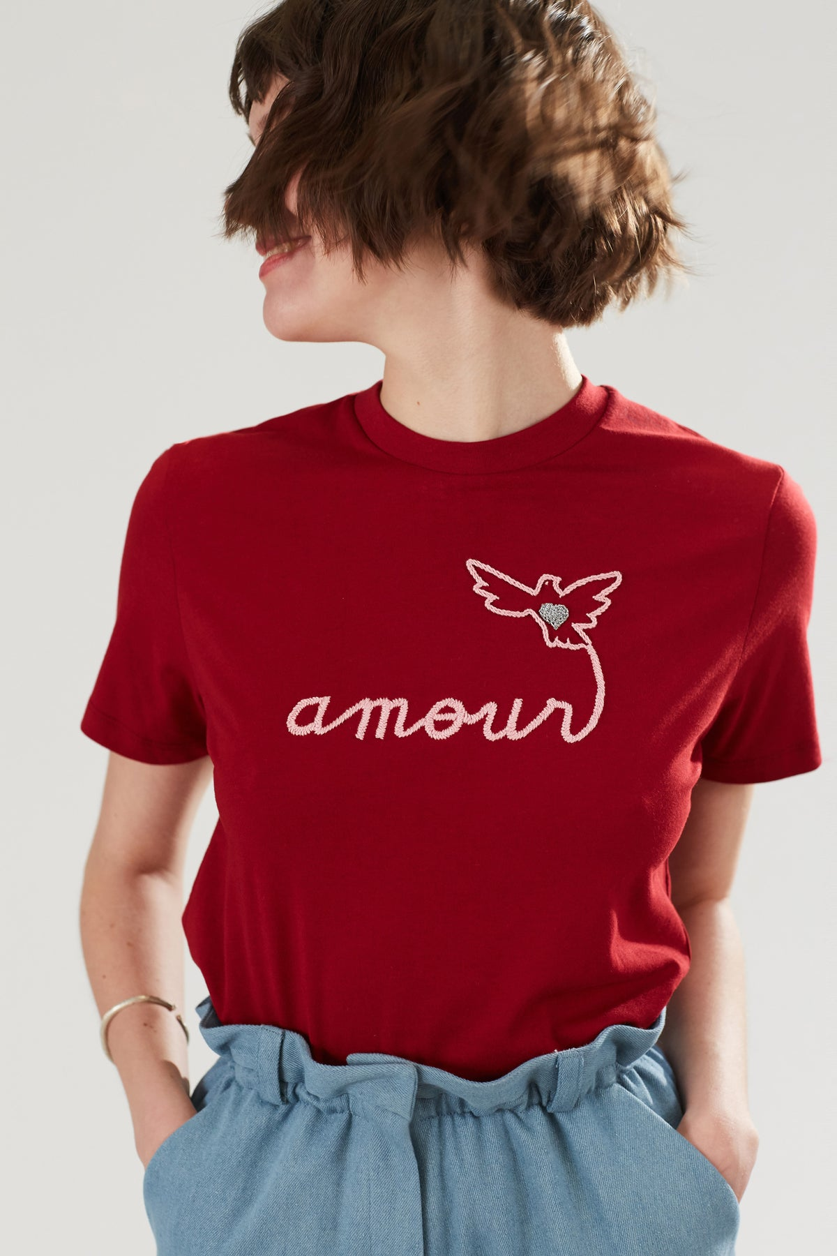 T-Shirt Cômète - Amour + Colombe - Côme Éditions