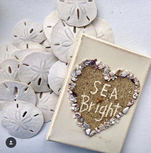 Sea Bright On Canvas in Heart