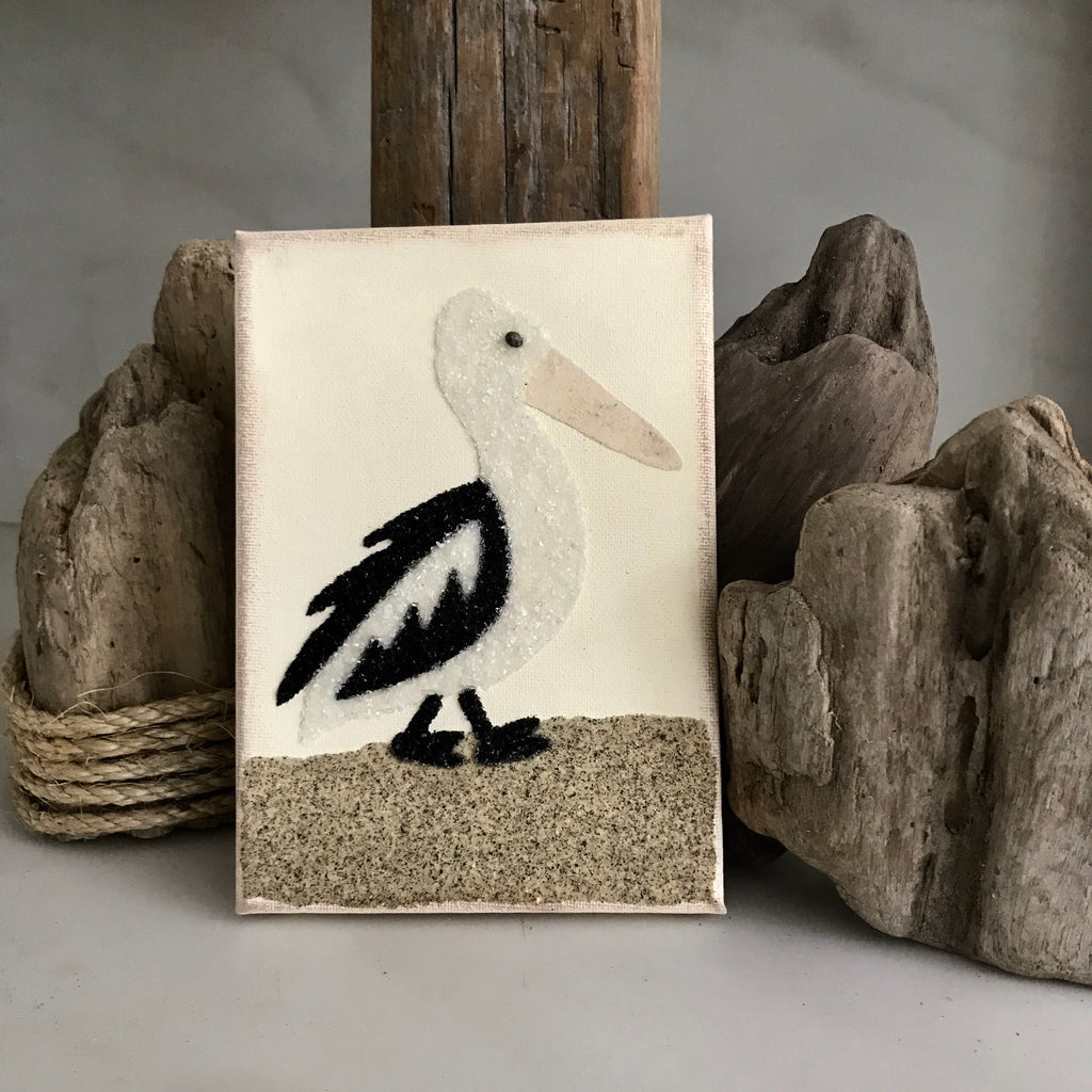 Pelican on Canvas