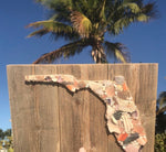 Florida State Sign on Reclaimed Wood