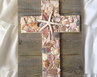 Cross on Reclaimed Wood