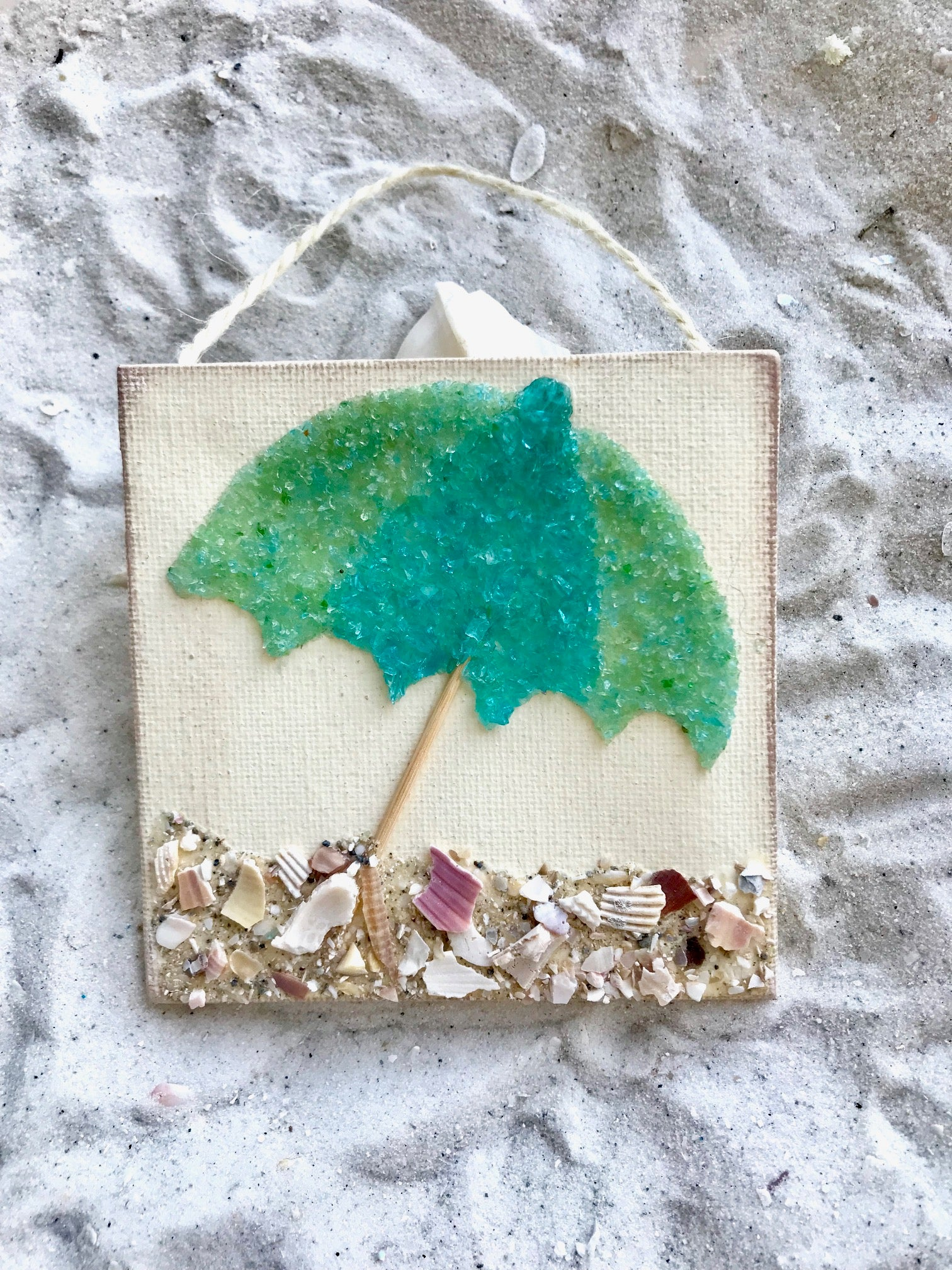 Beach Umbrella ornament