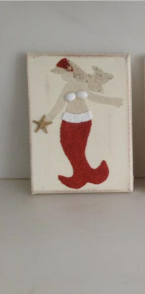 Mermaid with Red Tail Holiday Collection 2