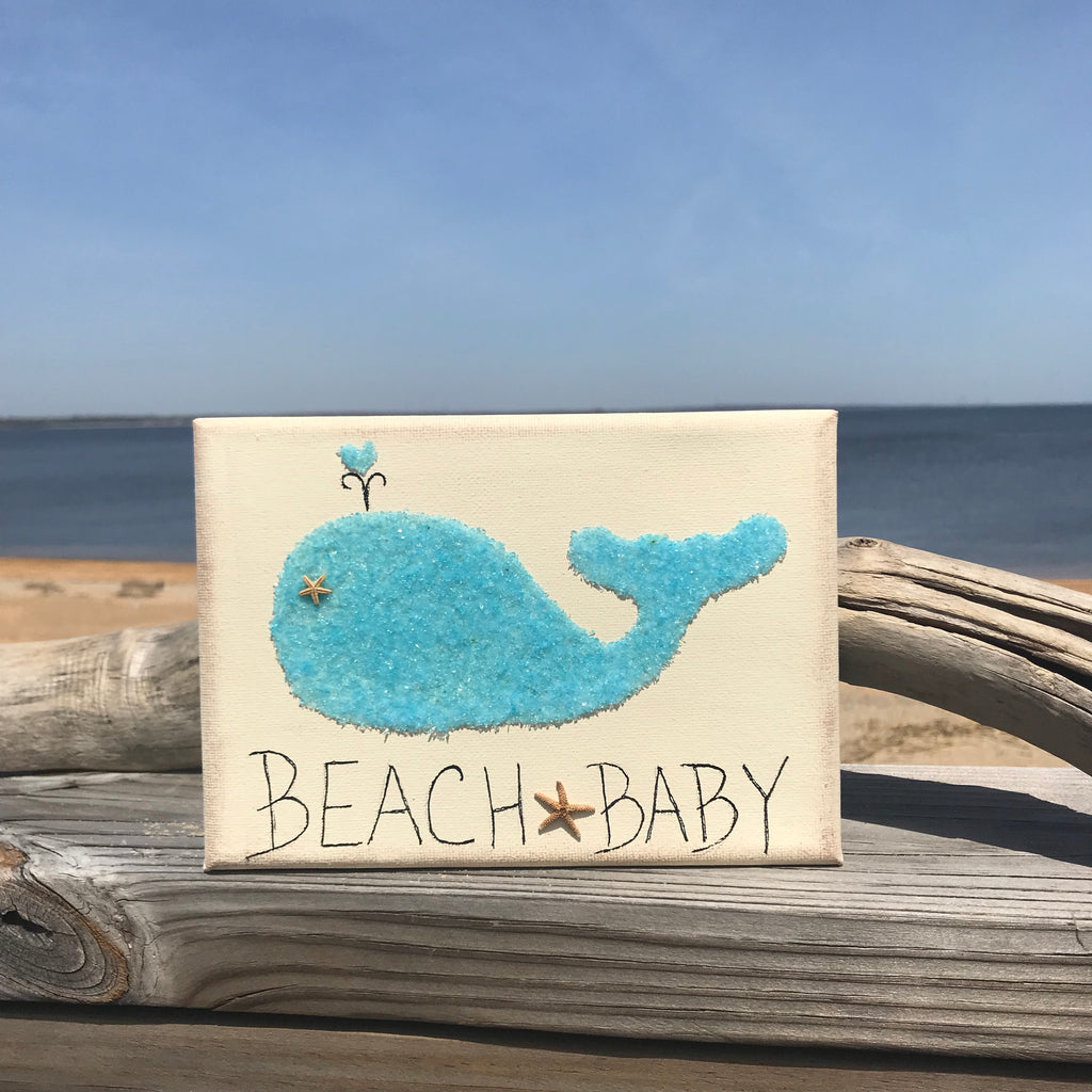 Beach Baby wall hanging