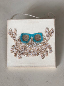 T1573 crab with sunnies