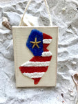Jersey Patriotic ornament