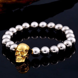 Golden Skull & Spheres