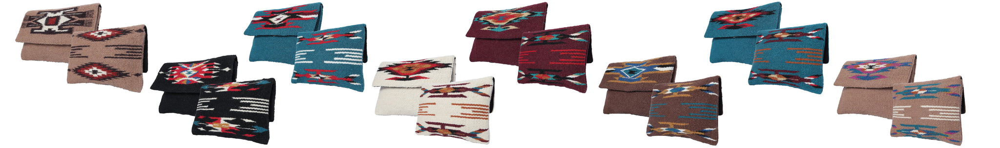 Southwest Chimayo-Style Clutch Purse from El Paso Saddleblanket Comapny