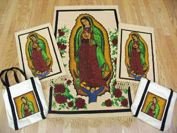 NEW ITEMS! 30 Popular Virgin of Guadalupe Items. WHOLESALE $4.90 ea!
