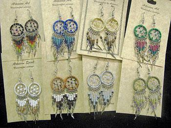 DREAM CATCHER EARRING FILLER PACK! 24 Pairs, WHOLESALE $2.50 each pair!
