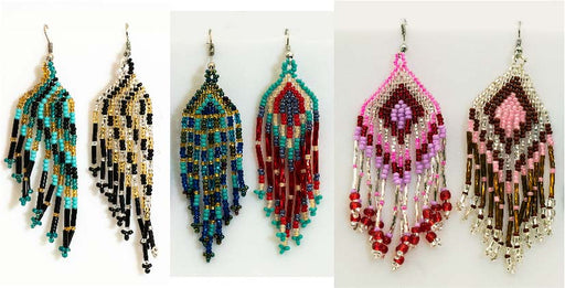 12 Pair Earring Assortment, Wholesale $2.75 ea!