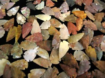"HOT SELLER ! 150 pc. Imported High Grade 1"" Arrowheads !! Wholesale $ .35 ea!"