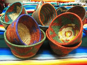 New ! 10 Hand Woven Baskets ! WHOLESALE- $4.50 ea!