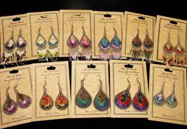"NEW ! 24 Hand Crafted ""NEW"" Southwest Style Earrings ! Wholesale $2.50 each pair!"