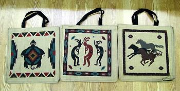 18 Eco-Friendly Jute Bags. Wholesale $3.50 ea.!