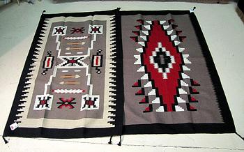 COLORS OF THE SOUTHWEST !2 - 4' X 6'  Hand Loomed Rugs! WHOLESALE- $72.00 ea.!