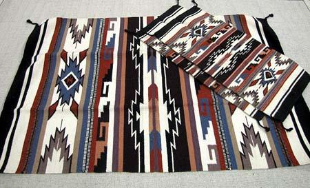 SANTIAGO COLLECTION !  3 - Hand Woven Wool  Rugs ! Wholesale $35.67 ea.!
